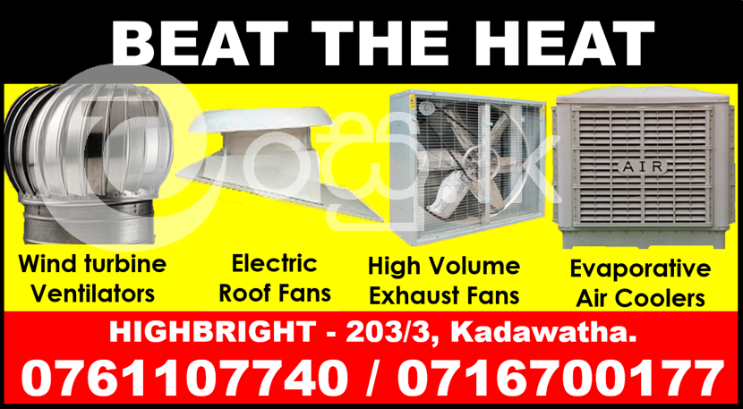 Roof exhaust fans srilanka   roof extractors srilanka  Wind turbine ventilators  Industry Tools & Machinery in Kadawatha