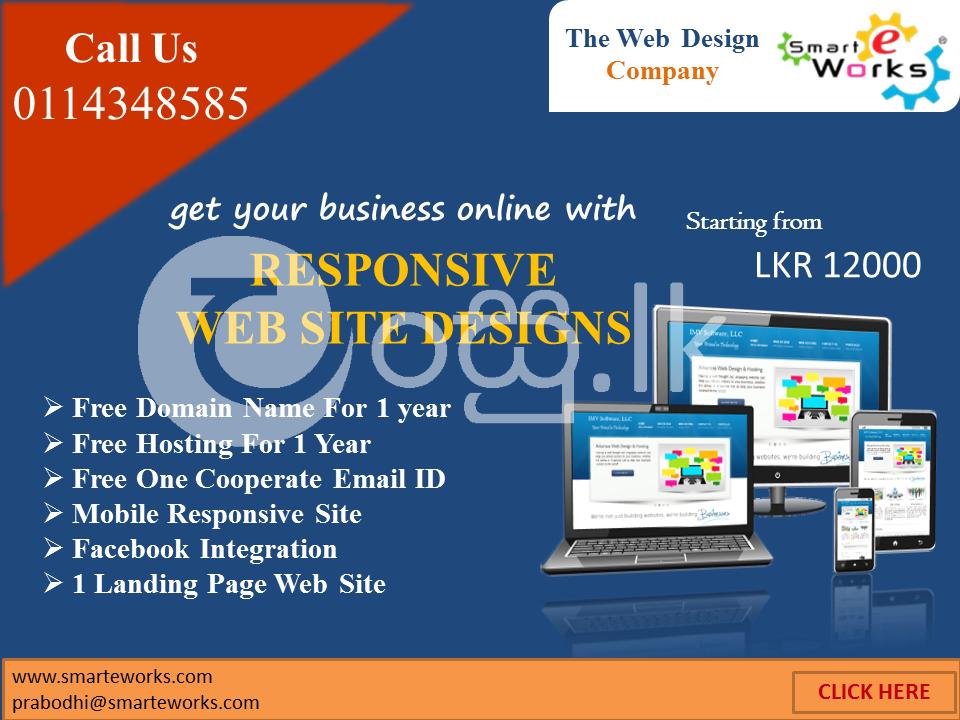 Responsive  Website Design Service in Ambalangoda