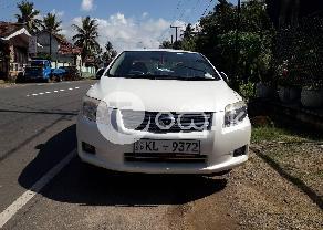 Toyota Axio X Limitet G 2008 in Ambalangoda