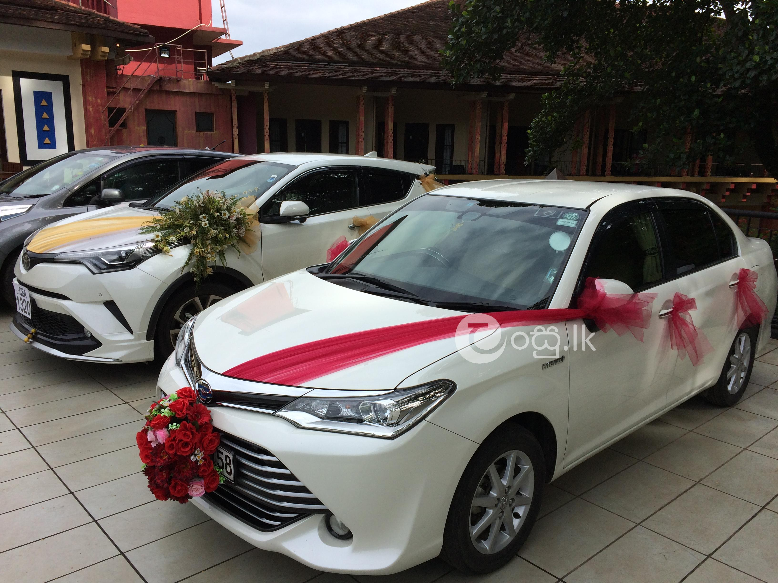 Wedding and home coming cars for sale kandy