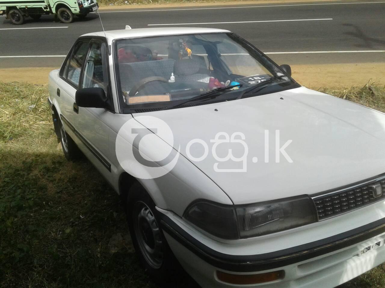 Toyota Corolla EE90 in Galewela