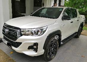 Toyota Hilux Double Cab Rocco 2018 in Ambalangoda