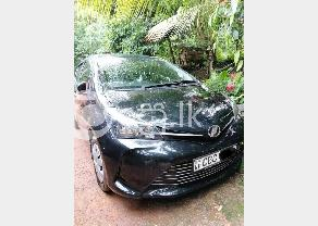 Toyota Vitz Modal 2016 in Negombo