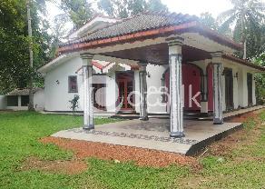 A Beautiful Single Storied House in Veyangoda