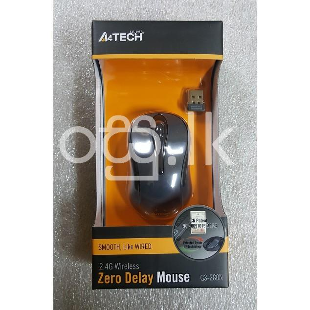 A4 Tech wireless Mouse  Computer Accessories in Colombo 15