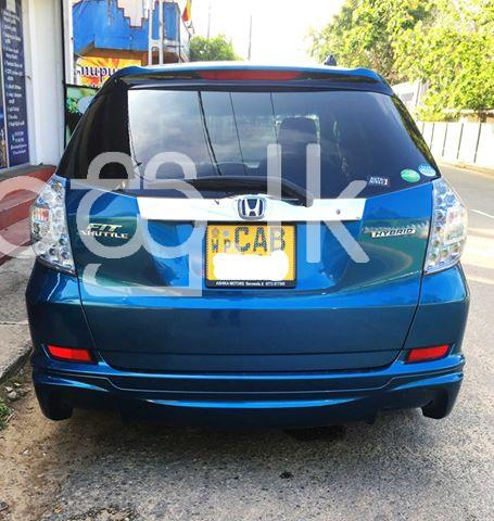 Honda Fit Shuttle   GP 2 2013 Cars in Galle