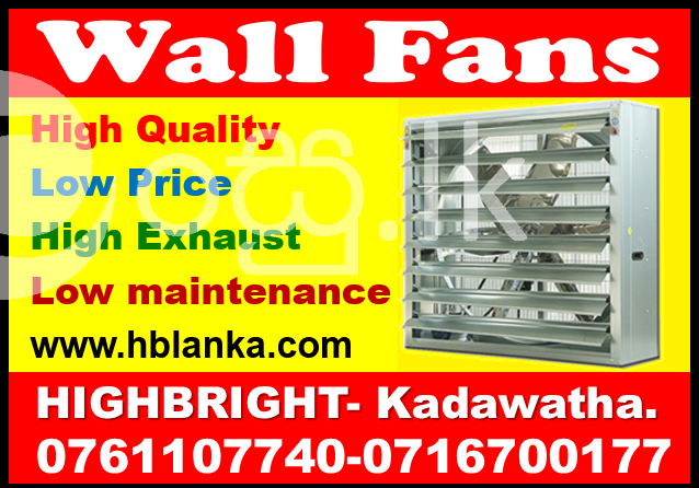 exhaust fan Srilanka  Wall exhaust shutters  fans srilanka   ventilation system  Industry Tools & Machinery in Kadawatha