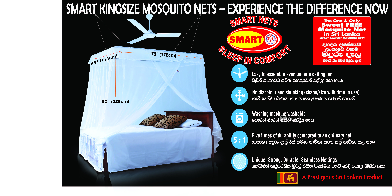 Smart King Size Mosquito Net in Kadawatha