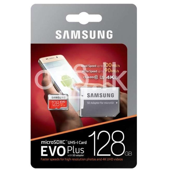 Samsung Evo Plus Orginal 128GB Memory Card Class 10 Mobile Phone Accessories in Dehiwala