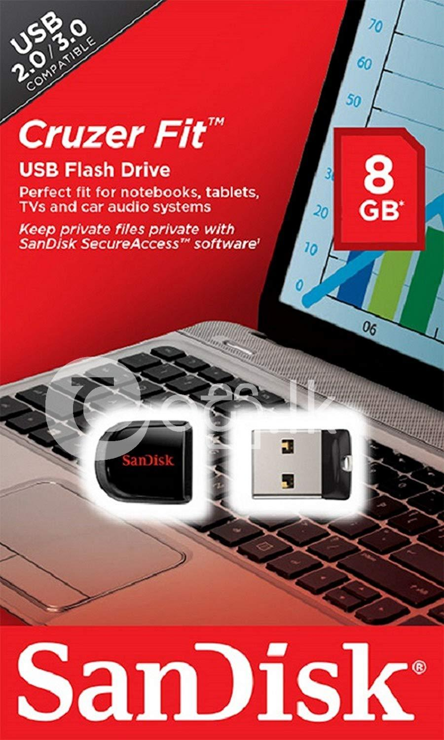Sandisk 8GB Cruzer Fit USB Flash Pen Drives Computer Accessories in Dehiwala
