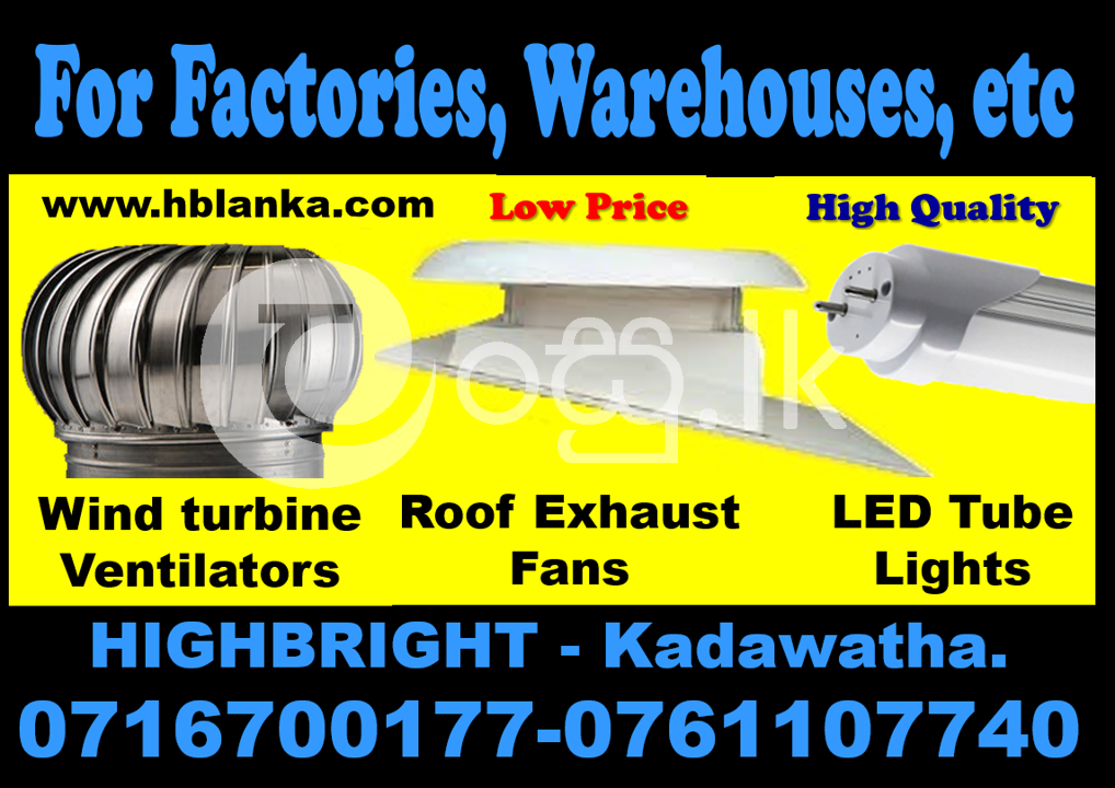 Roof fan srilanka Roof exhaust fans srilanka   roof ventilators  turbine air  Industry Tools & Machinery in Kadawatha
