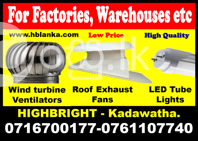 Roof exhaust fans srilanka   roof ventilators  turbine ventilators  Exhaust fans Industry Tools & Machinery in Kadawatha