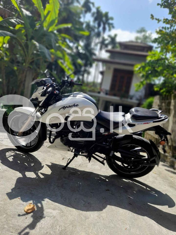 TVS Apache 200 2017 Motorbikes & Scooters in Horana