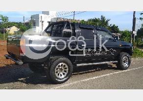 Nissan Dutsun D21 4X4 Double Cab in Ambalangoda