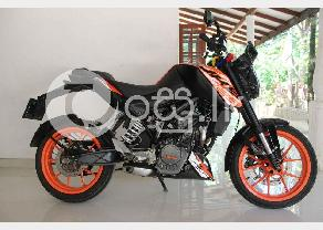 KTM Duke 125 in Kegalle