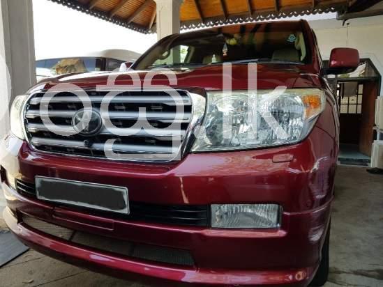 Toyota Land Cruiser V8 2010 For Sale Kohuwala